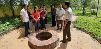 Chi bộ Giảng viên 3, Khoa Kiến thức cơ bản đi nghiên cứu thực tế tại tỉnh Tiền Giang
